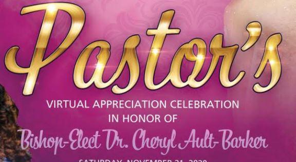 Pastor's Virtual Appreciation Celebration